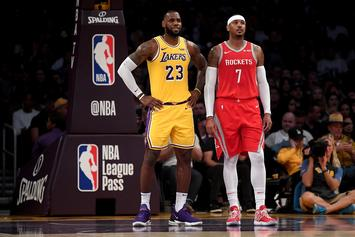 Carmelo Anthony Recounts How LeBron James Saved His Life