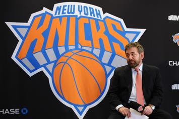 Knicks Owner James Dolan Tests Positive For Coronavirus