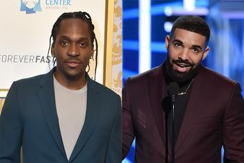 Pusha-T Trends After Drake Shares Photos Of His Son