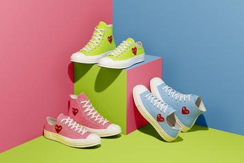 Comme Des Garcons x Converse Chuck 70 Returns In Neon Colors
