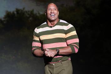 """Dwayne Johnson Sings """"You're Welcome"""" From """"Moana"""" While Washing Baby's Hands"""