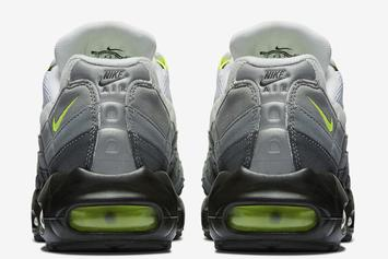 "Nike Air Max 95 ""Neon"" To Make A Comeback This Year: Details"