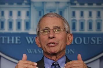Dr. Fauci Breaks Down Plan For Sports Leagues To Return