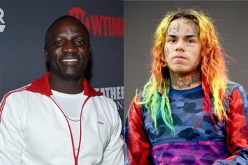 Akon Defends 6ix9ine For Snitching