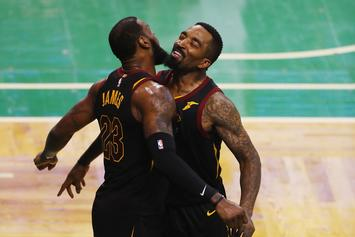 JR Smith Recalls LeBron's Message to Cavs While Down 3-1 In 2016
