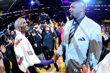 Shaq Says He Won't Be Able To Watch Kobe Bryant's Hall Of Fame Induction