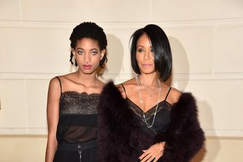 Jada Pinkett Smith Tones Her Chiseled Abs While Working Out With Willow Smith