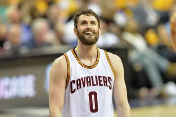 Kevin Love On Cavs' First Day Back In Practice Facility