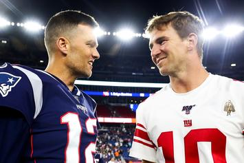 Tom Brady Roasts Eli Manning Upon Arrival To Twitter