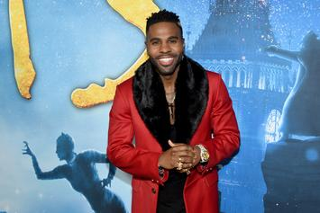 Jason Derulo Scarfs Down 22 Burgers To Celebrate 22 Million TikTok Followers