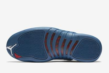 "Air Jordan 12 ""Stone Blue"" Coming Soon: First Look"