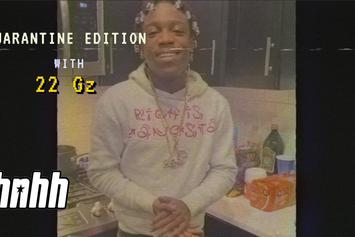 "22Gz Creates Half-Weed, Half-Henny Cookie On ""Quarantine Essentials"""
