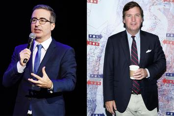 "John Oliver Tears Tucker Carlson Apart: ""Racist"" Or ""Total F*cking Moron?"""