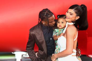 Travis Scott & His Daughter Stormi Have The Same Hair
