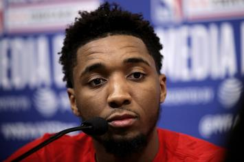 """Donovan Mitchell Asks Poignant Question To Supposed """"Fans"""""""