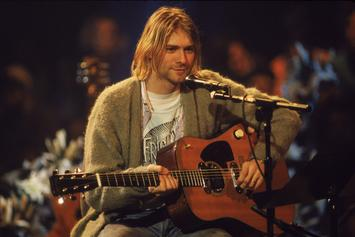 """Kurt Cobain's Guitar From """"MTV Unplugged"""" Sells For $6.01 Million"""
