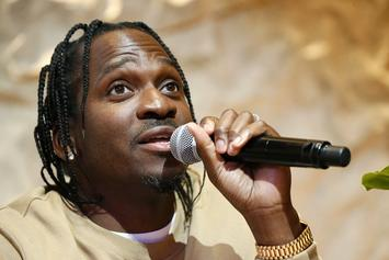 Pusha T Poses With Cop & Twitter Revisits Drake's Blackface Controversy