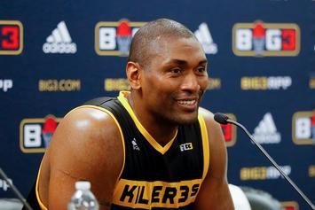 Metta World Peace Picks Unorthodox NBA GOAT