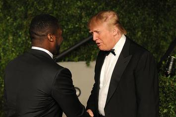 50 Cent Sends Iran A Message From Donald Trump After Arrest Warrant