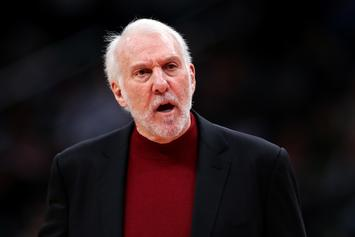 Nets Rumored To Be Making Run For Gregg Popovich