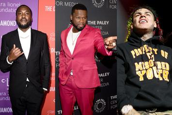 Meek Mill & 6ix9ine Respond To 50 Cent's Recent Comments