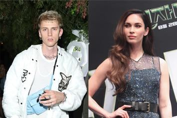 Machine Gun Kelly & Megan Fox Resume Filming In Puerto Rico Where They First Met