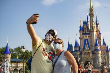 Disney World Upgrades Mask Mandate As COVID-19 Cases Surge