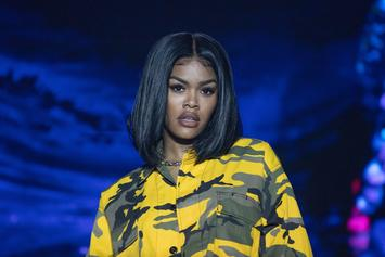 "Teyana Taylor Shows Off Bare Baby Belly: ""Feeling All Sexy 7 Months Preggo!"""