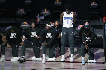 Magic's Jonathan Isaac Sparks Outcry After Refusal To Kneel