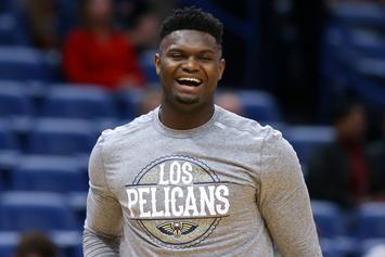 "Zion Williamson Reportedly ""Pissed"" Over Minutes Restriction"