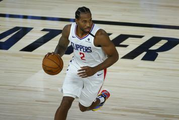 Kawhi Leonard Wants No Part Of Marcus Morris' Antics