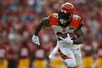 Jeremy Hill Says He Has Signed With The Las Vegas Raiders