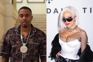 "Nas Takes Shots At Doja Cat On New Song ""Ultra Black"""