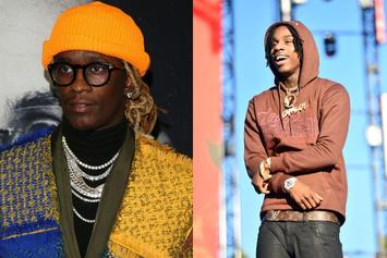 Polo G & Young Thug Are Locked In The Studio