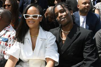 Rihanna Clowns A$AP Rocky's Fashion