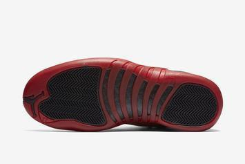 "Air Jordan 12 ""Reverse Flu Game"" Release Date Revealed: First Look"