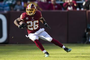 Washington Football Team Releases Veteran RB Adrian Peterson