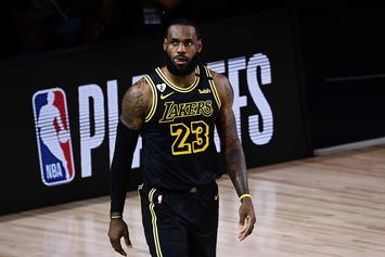 LeBron James Jokes About Why His Kids Aren't In The Bubble