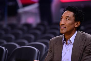 "Scottie Pippen Shows Off Massive Chicago Mansion In New ""Architectural Digest"" Episode Of ""Open Door"""