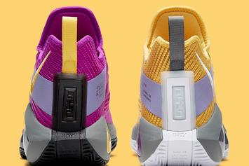 "Nike LeBron Soldier 14 ""Lakers"" Coming Soon: Photos"