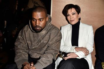 "Kris Jenner Reportedly ""Appalled"" By Kanye West Peeing On Grammy"