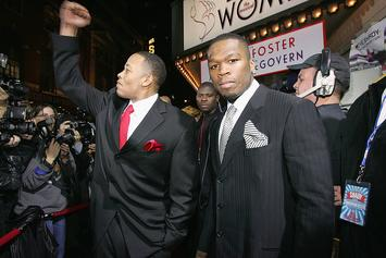 50 Cent Disses Dr. Dre's Estranged Wife Over Co-Ownership Claim