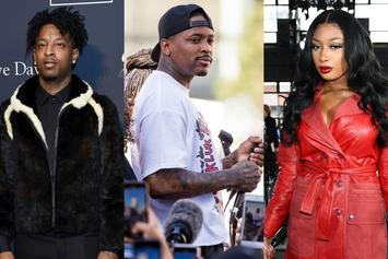 "21 Savage, YG & Megan Thee Stallion Light Up This Week's ""Fire Emoji"" Playlist"