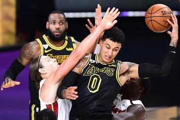 "Fans Start Petition To Stop ""F*ckboi"" Kyle Kuzma From Getting A Ring If Lakers Win Finals"
