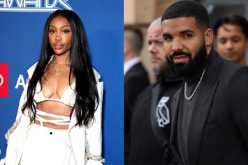 """SZA Reacts To Drake's Claim On """"Savage Mode II"""" That They Used To Date"""