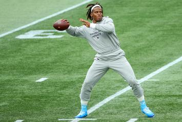 Cam Newton's Status Updated Following COVID Diagnosis