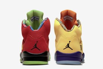 """Air Jordan 5 """"What The"""" Officially Unveiled: Photos"""