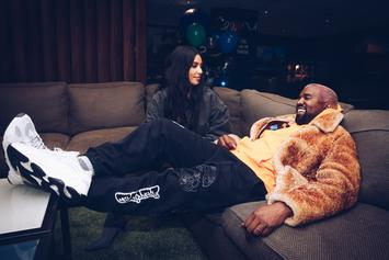 Kanye West Gifts Kim K A Hologram Of Her Father For Her B-Day
