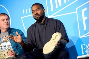 Kanye West Goes All Blue For Halloween