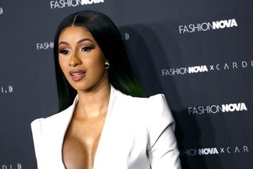Cardi B Smokes 3 Cigarettes At Once To Deal With Election Stress